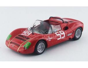 Best Model BT9530 ABARTH SP 1000 N.59 15th 1000 Km MONZA 1968 PASOTTI-GRANO 1:43 Modellino
