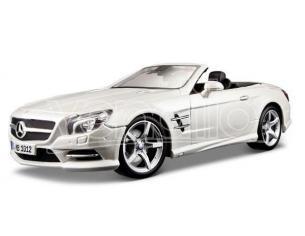 Maisto Mi31196w Mercedes Sl500 Convertible 2012 Metallolic White 1:18 Modellino