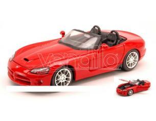 Maisto MI31232 DODGE VIPER SRT-10 2003 RED 1:24 Modellino