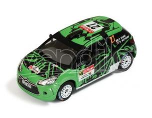 Ixo model RAM461 CITROEN DS3 R3 N.27 35th PORTUGAL IRC 2011 HUNT-MARSHALL 1:43 Modellino
