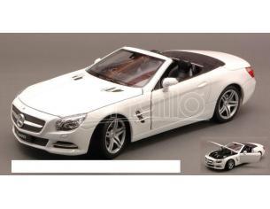 Welly WE0298 MERCEDES SL500 SPIDER 2012 WHITE 1:24 Modellino