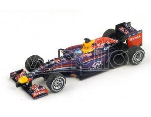 Spark Model S3085 RED BULL S.VETTEL 2014 N.1 RETIRED AUSTRALIAN GP 1:43 Modellino