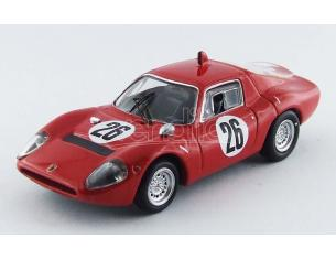 Best Model BT9547 ABARTH OT 1300 N.26 8th TRENTO-BONDONE 1968 A.KROHE 1:43 Modellino