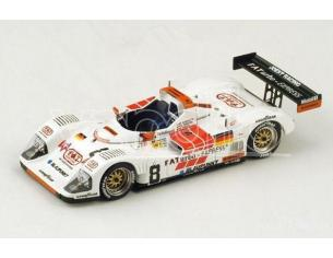 Spark Model S4179 PORSCHE T.W.R. WSC N.8 26th LM 1996 ALBORETO-MARTINI-THEYS 1:43 Modellino