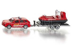 Sky Marks SK2549 CAR WITH TRAILER AND HOVERCRAFT 1:50 Modellino