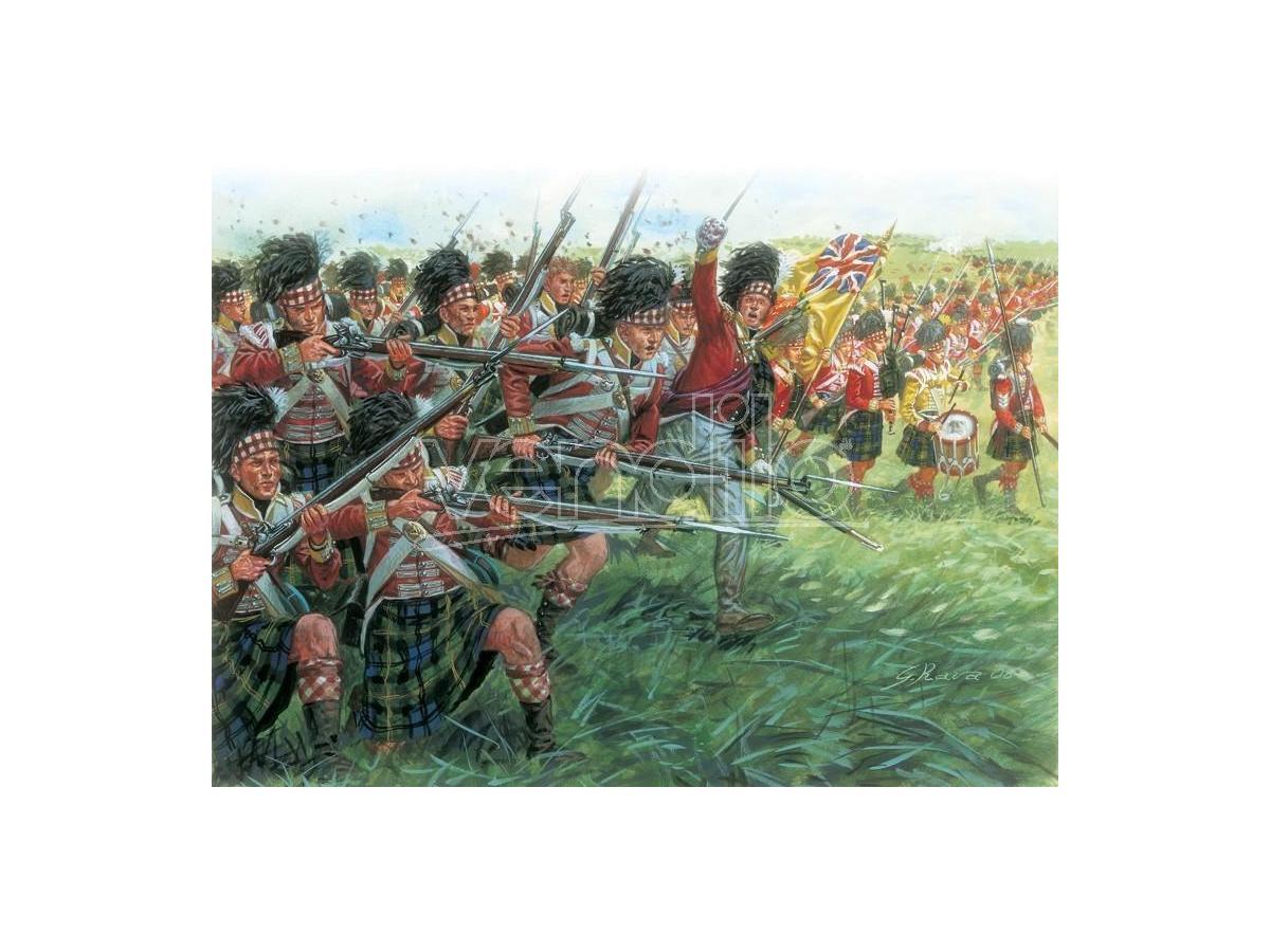 Italeri IT6136 NAPOLEONIC WARS SCOTS INFANTRY KIT 1:72 Modellino