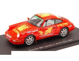Spark Model S1373 PORSCHE 964 CARRERA 4 WORLD TOUR 1994 1:43 Modellino
