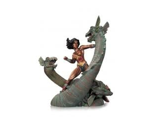 DC DIRECT WONDER WOMAN VS HYDRA MINI PATINA STATUE STATUA