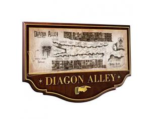 Insegna / Placca muro Diagon Alley Harry Potter Noble Collection