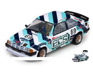 SunStar SS4963 FORD ESCORT 1600i N.69 BRITISH SALOON CAR 1985 CHRIS HODGETTS 1:18 Modellino