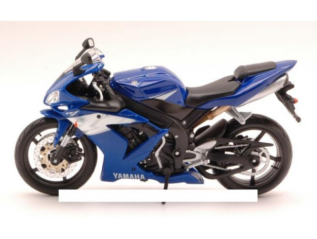 Maisto MI4071B YAMAHA YZF-R1 BLUE 1:12 Modellino