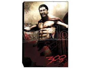 NECA 300 STRETCHED ART ON CANVAS -LEONIDAS- STAMPA SU TELA
