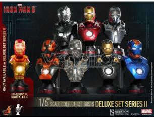HOT TOYS IRON MAN COLL BUST 8-PACK BOX BUSTO