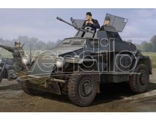 Humbrol HBB83816 GERMAN SD.KFZ.222 LEICHTER PANZERSPAHWAGEN 3rd SERIES KIT 1:35 Modellino