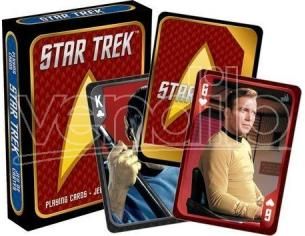 AQUARIUS ENT STAR TREK PLAYING CARDS CAST CARTE DA GIOCO