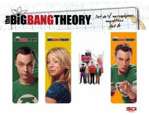 SD TOYS BIG BANG THEORY MAGNETIC BOOKMARK -A- SEGNALIBRO