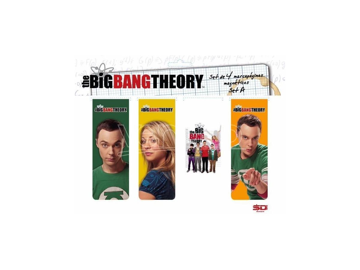 SD TOYS BIG BANG THEORY MAGNETIC BOOKMARK -A- SEGNALIBRO