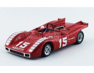 Best Model BT9565 ABARTH 2000 SP N.15 41st 500 Km NURBURGRING 1970 KURT AHRENS JR. 1:43 Modellino