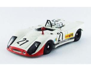 Best Model BT9567 PORSCHE 908/2 FLUNDER N.21 12th INTERSERIE HOCKENHEIM 1970 N.LAUDA 1:43 Modellino