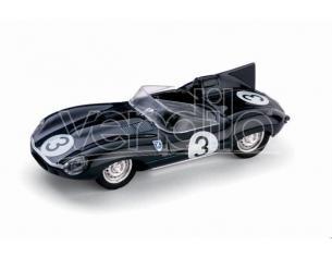 Brumm BM0149B JAGUAR D TYPE N.3 WINNER LE MANS 1957 BUEB-FLOCKHART 1:43 Modellino