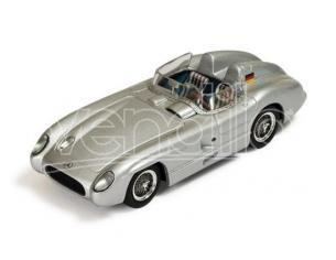 Ixo model CLC269 MERCEDES 300 SLR RACING SPORTS CAR 1955 SILVER 1:43 Modellino
