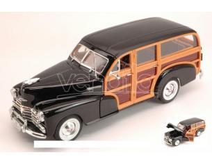 Welly WE2083 CHEVROLET FLEETMASTER 1948 BLACK 1:24 Modellino