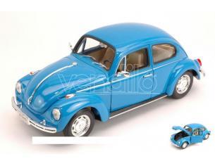 Welly WE2106 VW BEETLE 1968 BLUE 1:24 Modellino