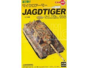 Dragon D20015 JAGDTIGER SD.KFZ.186 1:144 Modellino