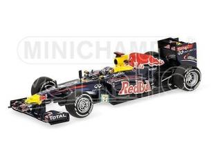 Minichamps PM410110301 RED BULL S.VETTEL 2011 JAPANESE GP WORLD CHAMPION 1:43 Modellino