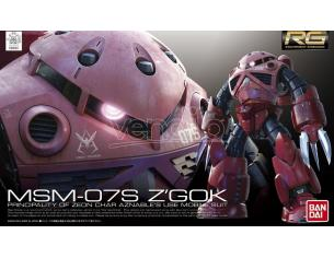 BANDAI MODEL KIT RG Z'GOK CHAR CUSTOM 1/144 MODEL KIT