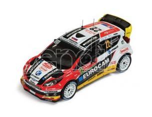 Ixo model RAM570 FORD FIESTA WRC N.22 8th MONTE CARLO 2014 J.MELICHAREK-E.MELICHAREK 1:43 Modellino