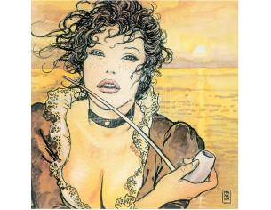 COMIXANDO MANARA ART ON CANVAS SUNMOLLY GIFT BOX STAMPA SU TELA