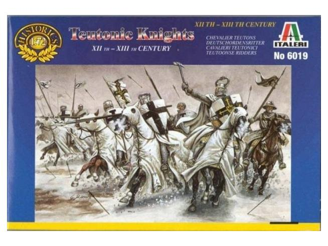 Italeri IT6019 TEUTONIC KNIGHTS KIT 1:72 Modellino