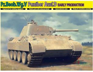 Dragon D6813 PZ.BEOB.WG.V PANTHER AUSF.D EARLY PRODUCTION KIT 1:35 Modellino