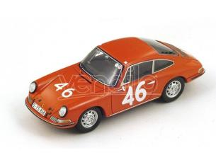 Spark Model S4024 PORSCHE 911S N.46 7th (WINNER CLASS) TARGA FLORIO 1967 KILLY-CAHIER 1:43 Modellino