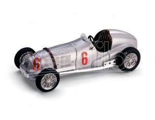 Brumm BM0070 MERCEDES W 125 H.LANG 1937 N.6 2nd ITALIAN GRAND PRIX (LIVORNO) 1:43 Modellino