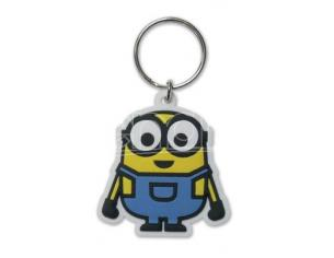 Portachiavi Minions Rubber Keychain Minion Bob 6 cm Pyramid International