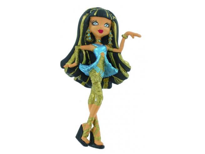 Figura Monster High Mini Figure Cleo de Nile 10 cm Comansi