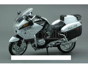 New Ray NY43153 MOTO BMW R1200 RT-P U.S.POLICE 1:12 Modellino
