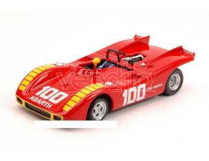 Best Model BT9573 ABARTH 2000 SP N.100 2nd COPPA CITTA' DI ENNA 1970 A.MERZARIO 1:43 Modellino