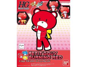 BANDAI MODEL KIT HGBF BEARGGUY PETIT BURNING RED MODEL KIT