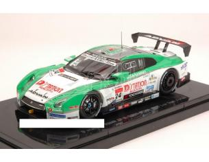 Ebbro EB44966 NISSAN GT-R N.24 SUPER GT500 2013 YASUDA-KRUMM LOW DOWN FORCE 1:43 Modellino