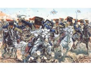 Italeri IT6052 CRIMEAN WAR BRITISH HUSSARS KIT 1:72 Modellino