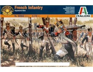 Italeri IT6066 FRENCH INFANTRY NAPOLEONIC WARS KIT 1:72 Modellino