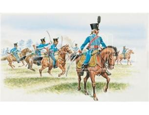 Italeri IT6008 FRENCH HUSSARS 1^ REGIMENT KIT 1:72 Modellino