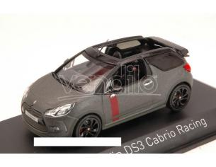 Norev NV155295 CITROEN DS3 CABRIO RACING 2014 GUN GREY 1:43 Modellino