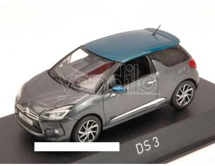 Norev NV155297 CITROEN DS3 2015 GUN GREY & EMERAUDE 1:43 Modellino