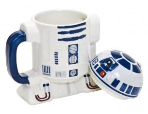 Star Wars Tazza in ceramica con coperchio R2-D2 Joy Toy