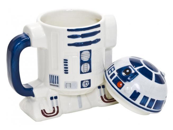 Star Wars Tazza in ceramica con coperchio R2-D2 Joy Toy
