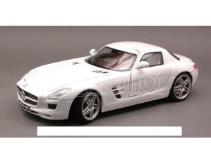 Motormax MTM79162WH MERCEDES SLS AMG 2010 WHITE 1:18 Modellino
